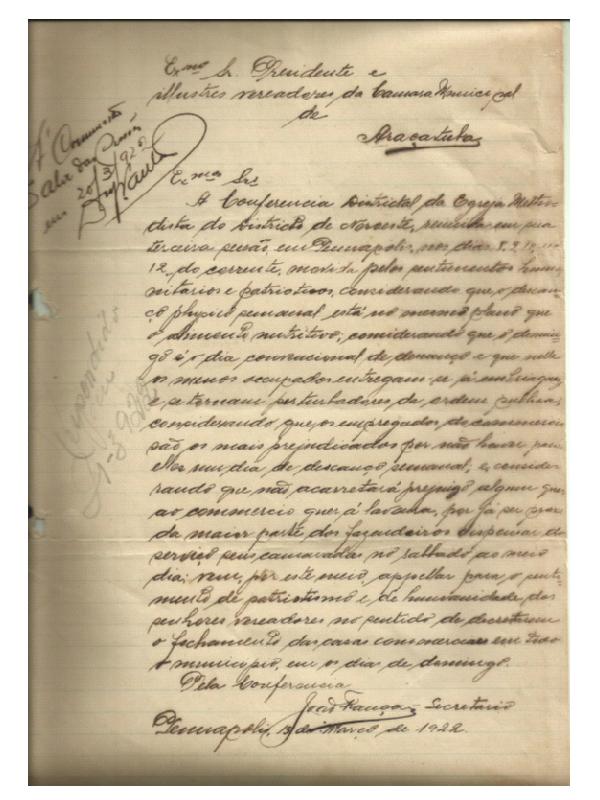 Os textos manuscrito antigos